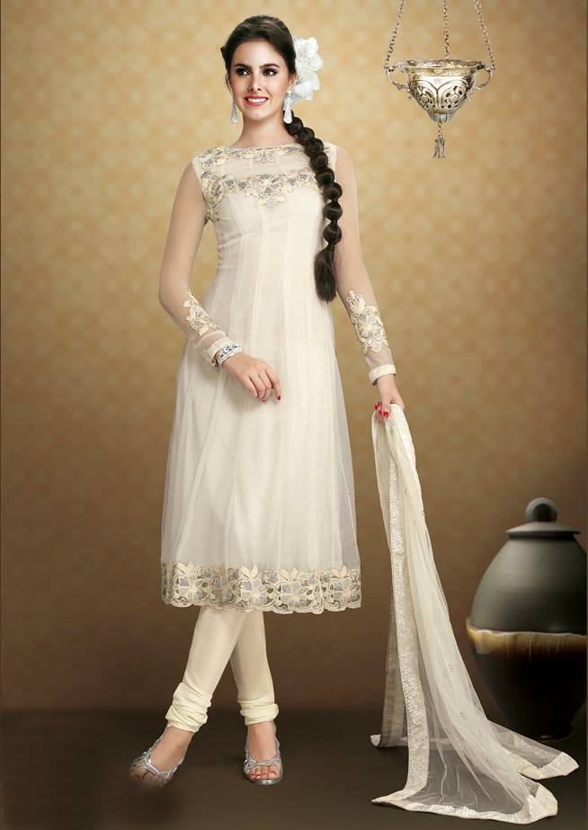 Traditional Indian clothing 2013 - Indian Anarkali frocks