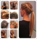 Twisted long hairstyles 2013