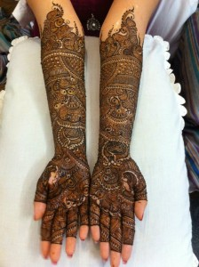 Beautiful bridal mehndi designs 2013