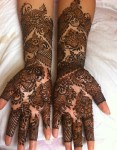 Bridal henna latest fashion