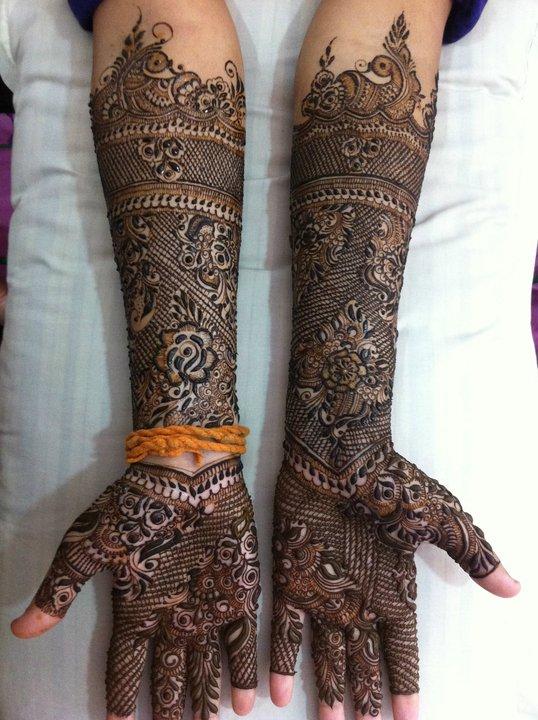 Bridal Henna Designs 2014 Bridal Mehndi For Weddings