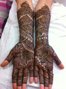 New bridal henna designs 2013
