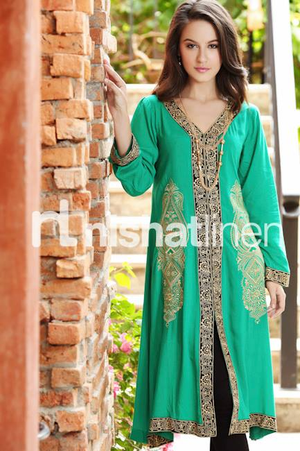 Nishat Dress Designs Winter 2013