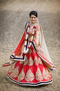 Indian bridal dress