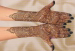 new mehndi for brides 2014