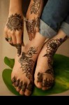 Henna patterns for feet
