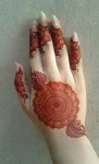 mehndi pattern for women