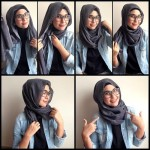 How to wear hijab for oval face
