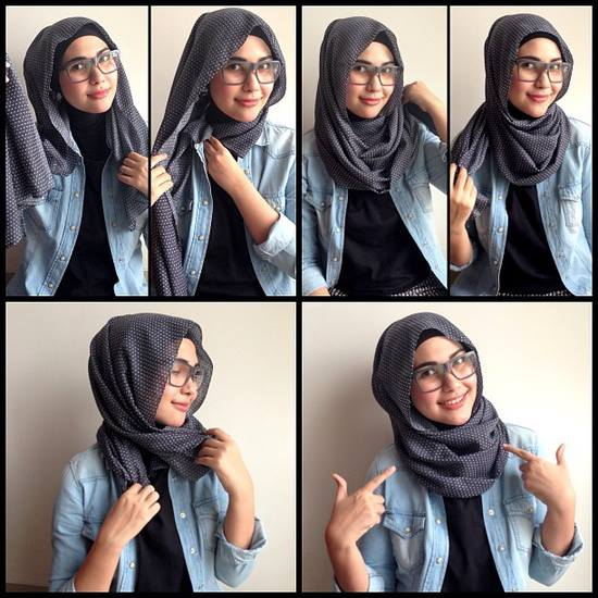 How-to-wear-hijab-for-oval-face.jpg (550×550) | Project H ...