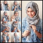 hijab for oval face