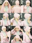 hijab style for oval face