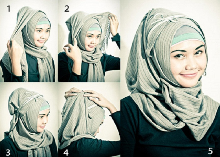 Hijab Styles For Round Faces
