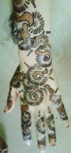 Indian Mehndi designs 2014