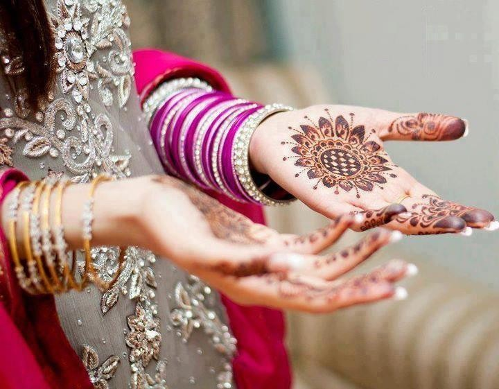 Latest bridal mehndi designs 2014