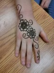 Simple mehndi designs 2014