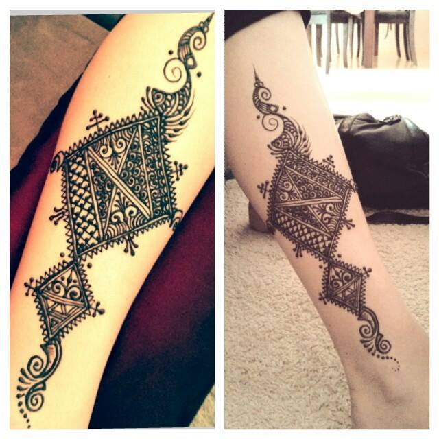 Moroccan Mehndi Patterns : New mehndi designs for hands latest asian fashions