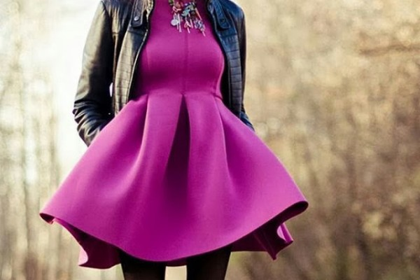 Radiant Orchid Color Of The Year 2014 - Latest Asian Fashions
