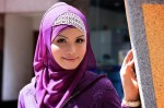 radiant orchid hijab