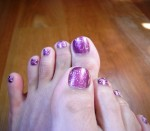 radiant orchid nails 2014