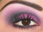 smoky radiant orchid eye make up