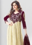 Zarine khan frock designs 2014