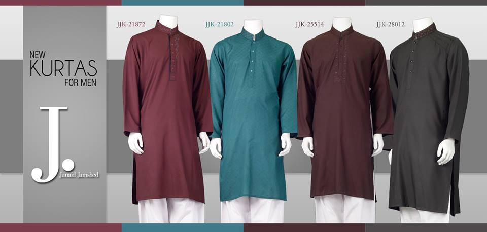 junaid jamshed kurta collection 2014