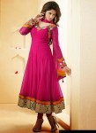 party wear anarkali frocks 2014