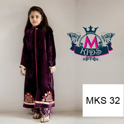 Pakistani Dress Designs for Girls – Maria B. Kids Collection 2014