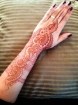 Arabic Henna patterns for hands 2014