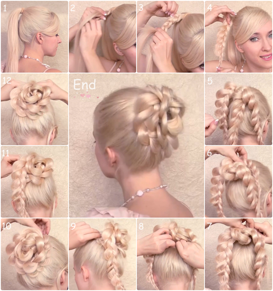 Latest Wedding Updo Hairstyles For Long Hairs 2014