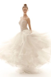 Davids bridal ball gown wedding dress