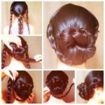 Easy updo hair styles 2014