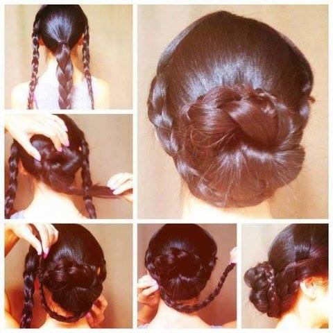 Hairstyle Yourself : Easy updo hair styles 2014