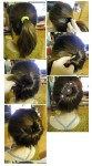 Latest updo for wedding 2014