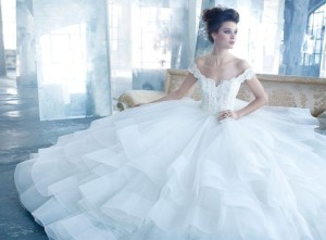 Lazaro ball gown wedding dresses 2014
