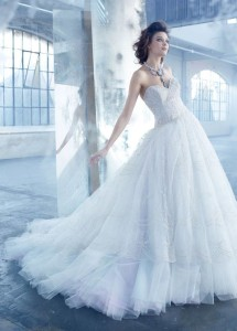 Lazaro new wedding dresses 2014