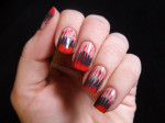Needle dragging nail art designs for kids