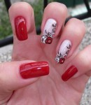 New acrylic nail art designs 2014
