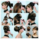 New updo hairstyles tutorials for long hairs