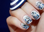 Splatter nail art designs step by step
