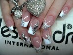 latest acrylic nail art designs 2014