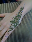 latest mehndi for hands 2014