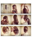 wedding updo hairstyle for long hairs