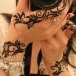 Arabic mehndi designs for hands 2014
