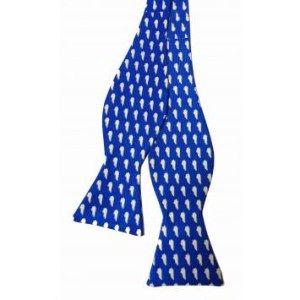 Gameday blue from southern proper bow ties collection for men