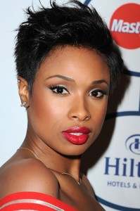 Jennifer Hudson spiky hairstyles for women over 50