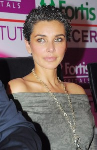Lisa Ray short hairstyles for women