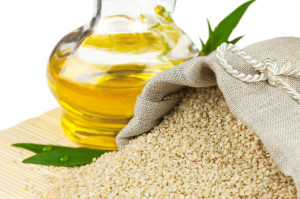 Sesame Oil to grow eyebrows thicker