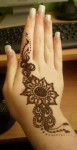 Simple arabic henna designs