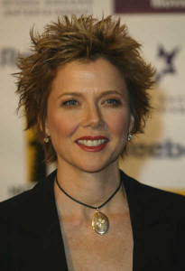 annette bening short spiky hairstyles for women over 40